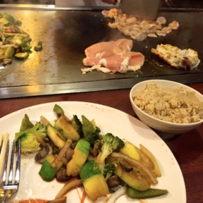 Gluten-free food from Abis Japanese Restaurant