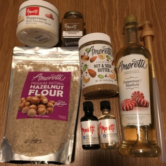 Gluten free flour and syrups by Amoretti Foods