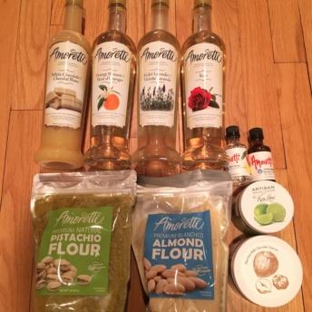 Gluten free baking supplies by Amoretti Foods