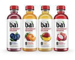 Gluten-free antioxidant drink from Bai