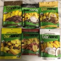 Gluten-free banana bites from Barnana