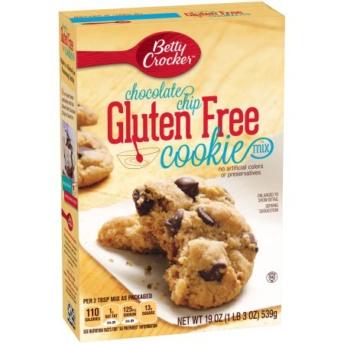 Gluten free chocolate chip cookie mix by Betty Crocker