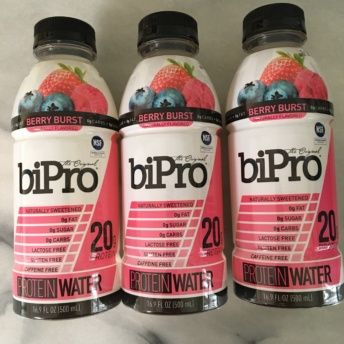 Gluten-free berry protein water from BiPro