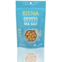 Gluten free chickpea snacks by Biena Snacks