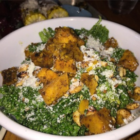 Gluten-free kale salad from Bodega Taco Bar