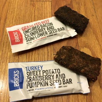 Gluten free beef & turkey bars by Brick Bars