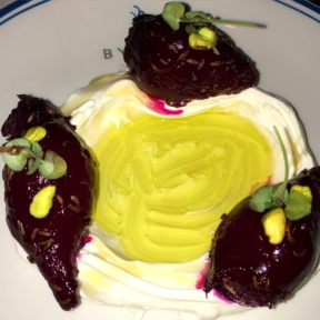 Gluten-free beets from Byblos