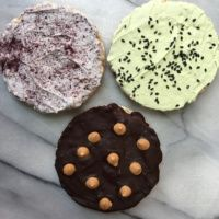 3 flavors of gluten-free rice cakes from Cake Bams