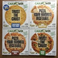 Gluten-free cauliflower pizza from Caulipower