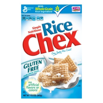 Gluten free cereal by Rice Chex