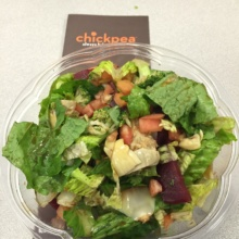 Gluten-free salad from Chickpea