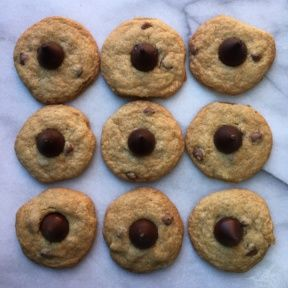Gluten-free Chocolate Chip Blossoms