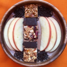 Gluten-free Chocolate & Apple Yogurt Bowl