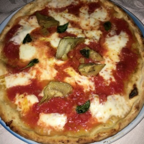 Gluten-free Margherita pizza from Ciro and Sons