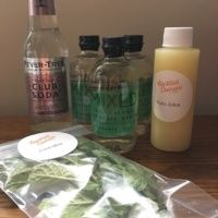 Gluten-free cocktail kit from Cocktail Courier