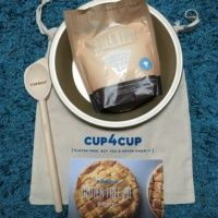 Gluten free pie mix from Cup4Cup