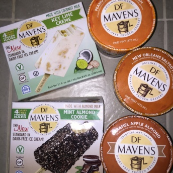Gluten-free ice cream from DF Mavens