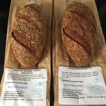 Gluten-free grain-free bread from Ducks and Dragons Bakery