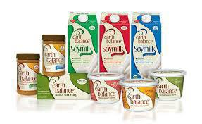 Gluten-free dairy free spreads and soy milk from Earth Balance