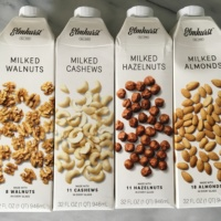Gluten-free nut milks from Elmhurst