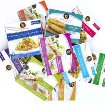 Gluten-free Asian meals by Feel Good Foods