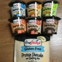Gluten-free protein muffin and pancake mixes from FlapJacked