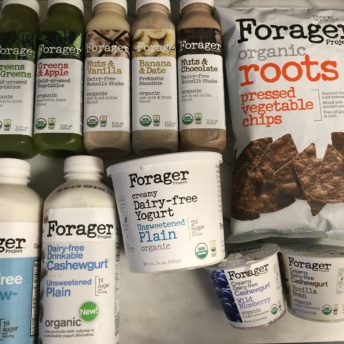 Gluten-free dairy free products n from Foragers Project