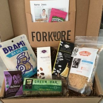 Gluten-free products from Forklore