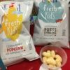 Gluten-free popcorn and puffs from Fresh Kids