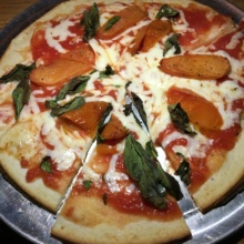 Gluten-free pizza from Gates Restaurant