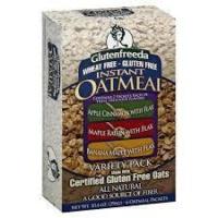 Gluten-free oatmeal from Glutenfreeda