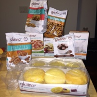 Gluten-free English muffins and pretzels by Glutino