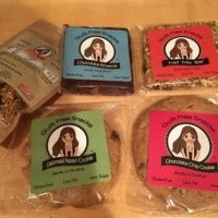 Gluten-free cookies and bars by Guilt Free Snacks