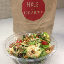 Gluten-free salad from Hale & Hearty