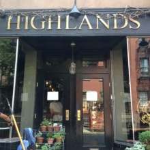 Highlands in West Village NYC