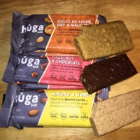 Gluten-free bars from Huga Bar
