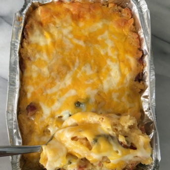 Gluten-free mac and cheese from BurgaBox