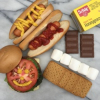Gluten-free summer cookout with Schar products