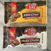 Gluten-free and dairy-free chocolate by Enjoy Life Foods