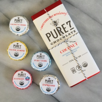 Certified organic and paleo chocolate by Pure7 Chocolate