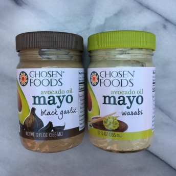 Gluten-free mayos from Chosen Foods