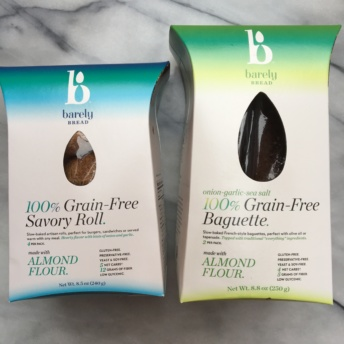 Grain free and paleo bread by Barely Bread