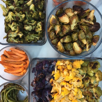 Roasted vegetables from Milk and Eggs