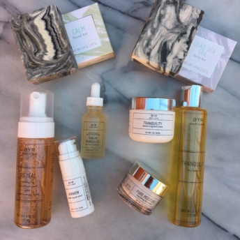 Gluten-free skin care line by Ayr Skin Care