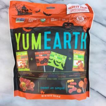 Organic Halloween candy by Yum Earth