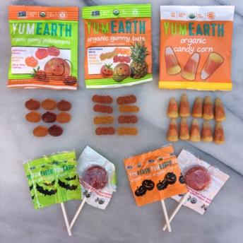 Gluten-free halloween candies by Yum Earth