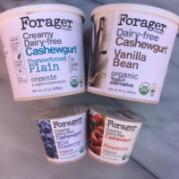 Creamy dairy-free gluten-free cashewgurt by Forager Project