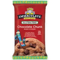 Gluten-free chocolate chunk cookie dough by Immaculate Baking