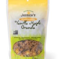 Gluten free vanilla maple granola by Jessica's Naturals