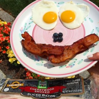 Gluten-free bacon from Jones Dairy Farm